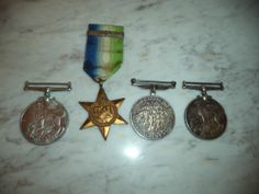 WW2 CANADIAN WAR MEDALS GROUP