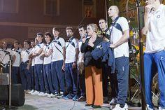 """Festa di S.Michele. """"Monte on the block"""" with the Pres"""