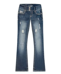 Look at this #zulilyfind! Series 31 Dark Wash Dylan Bootcut Jeans - Plus by Series 31 #zulilyfinds