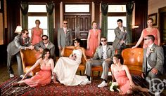 """My best bridal party shot yet!  I think I have captured the """"Great Group Shot"""""""
