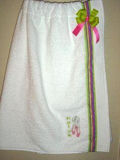 Como costurar sua própria saída de banho com uma toalha