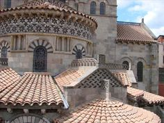 Basilica Notre-Dame-du-Port-Routes of Santiago de Compostela in France