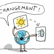 1jour1actu.com : C'est quoi, le changement climatique ? Les Inventions, Earth Day, Bart Simpson, Smurfs, Fictional Characters, French, Nature, Geography, Girl Names