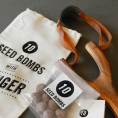 10 Seed Bombs with Slinger by VisuaLingual