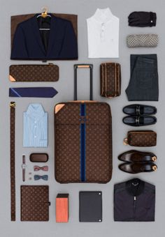 how to pack a suitcase for menswear