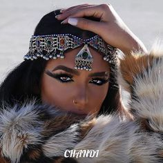 ORIGINAL Tika necklace tribalfusion freepeople gypsy bellydance boho hair head