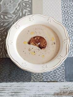 Каштановый суп с фуа-гра
