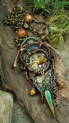 Altered Alchemy Gallery: Mixed Media Jewelry