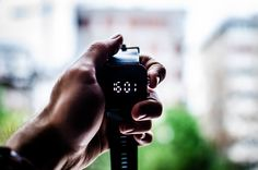 Download Wallpaper Wristwatch, Hand, Figures HD Background