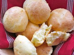 Pandebono is a traditional colombian cheese bread. Buen Provecho!  Ingredients (12 pandebonos)  2/3 cup cassava starch or yuca flour 1/4 cup precooked cornmeal or masarepa 1 cup Mexican queso freso or Colombian quesito 1 1/4 cup feta cheese 1 large egg