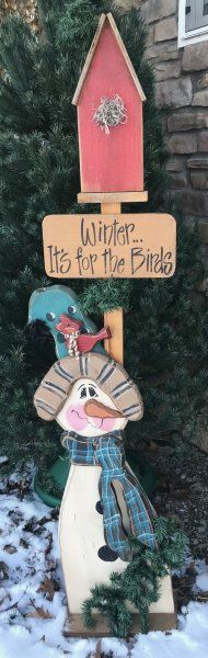 Winter...It\'s for the Birds $10.50
