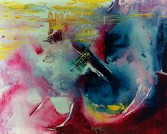 K .O. @krazyost shared via Twitter Oct 30 their art... 'Untitled' 30x40 - Acrylic on canvas #abstract #art #painting #abstractart ★❤★