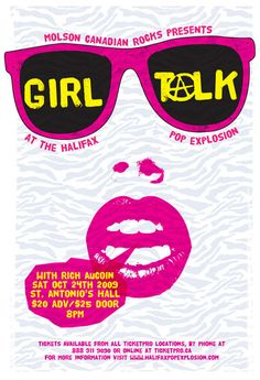 GigPosters.com - Girl Talk - Rich Aucoin
