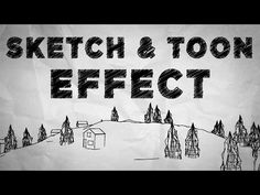 Cinema 4D and After Effects - Creating Sketch and Toon Effect Tutorial