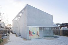 Built by SO-IL in Seoul, South Korea with surface 1260.0. Images by  Iwan Baan. After 3 years of design and construction, SO – IL, the architectural studio of Florian Idenburg and Jing Liu, complet...