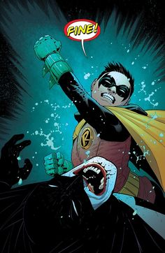 Damian Wayne by Patrick Gleason