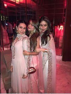Kareena and Karisma Kapoor and Amrita Arora
