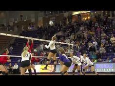 ▶ UNI Volleyball's Courtney Kintzel Steps up for Panthers - YouTube