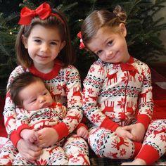 a3e51c0625 Family Christmas Pajamas Set Family Christmas Outfits