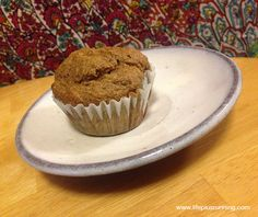 These banana muffins are so good you might die. But seriously. Banana. Blueberry. Coconut. Chia. Just. Ugh. So amazing! Vegetarian.