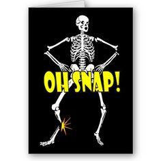 Oh Shap, Funny Skeleton Halloween LOVE!!! LOL by cutencomfy