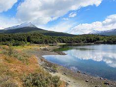 Bahia Lapataia, Parque Nacional Tierra del Fuego, Argentina
