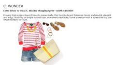 Enter Lucky Magazine's C. Wonder Sweepstakes for your chance to win a $10,000 C. Wonder shopping spree.