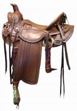 Sawtooth Saddle -  1/2 seat Cheyenne saddle