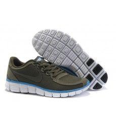100% authentic eef2f c78ba Magasin pour Nike Free Chaussures Course Pied Pour Homme Brun FoncéBleu  Blanc Offres De Noël à