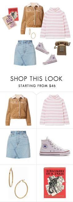 """""""for hannah"""" by cherrydude on Polyvore featuring Marc Jacobs, MaxMara, RE/DONE, Converse, Bony Levy and Olympia Le-Tan"""