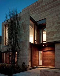 Fachaletas modernas para fachadas