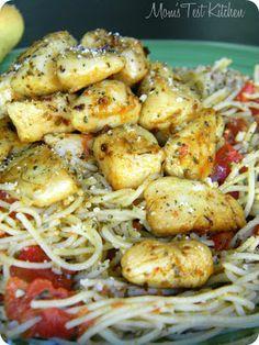 Capellini Pomodoro with Italian Herb Chicken