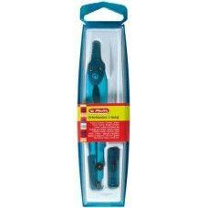 Herlitz tűvédős körző készlet 2 darabos - Világos kék - 539 Compass, Cleaning Supplies, Water Bottle, Soap, Neon, Cleaning Agent, Water Bottles, Neon Colors, Bar Soap