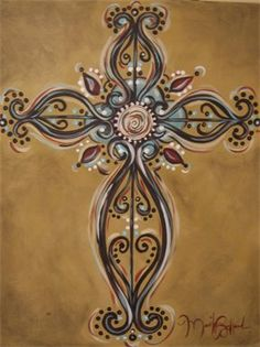Cross..love love love this done by my friend Marilyn Bullard