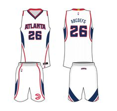 Atlanta Hawks Home Uniform 2015