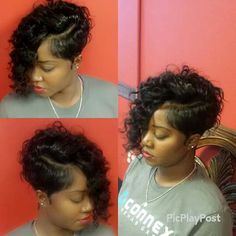 "Short Quick Weave Hairstyles Amazing Quick Weave …  Things ""…"