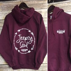 Just For Jeep Girls Logo Hoodie {Jeepsy Soul} - Adult Heavyweight Hoodie Jeep Wrangler Accessories, Jeep Accessories, Jeep Hoodie, Jeep Clothing, Jeep Grill, Jeep Decals, Jeep Shirts, Jeep Wrangler Unlimited, Wrangler Jeep
