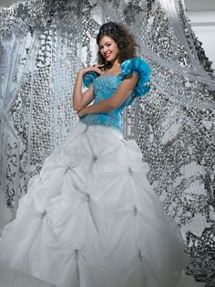 Attractive Ball Gown Taffeta Applique Slimly Floor Length Hottest Prom Dress