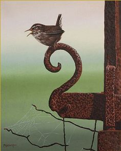 wren:has a beautiful song in the early morning:) one of my very favorite birds