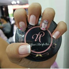 Toe Nails, Pink Nails, Beautiful Nail Designs, Stylish Nails, Perfect Nails, Manicure And Pedicure, Nail Colors, Hair Beauty, Nail Art