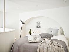 Wonen in een Zweeds appartement met een bijzondere vorm
