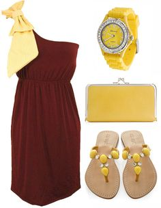 love the dress for FSU.#Repin By:Pinterest++ for iPad#