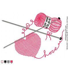 love knitting