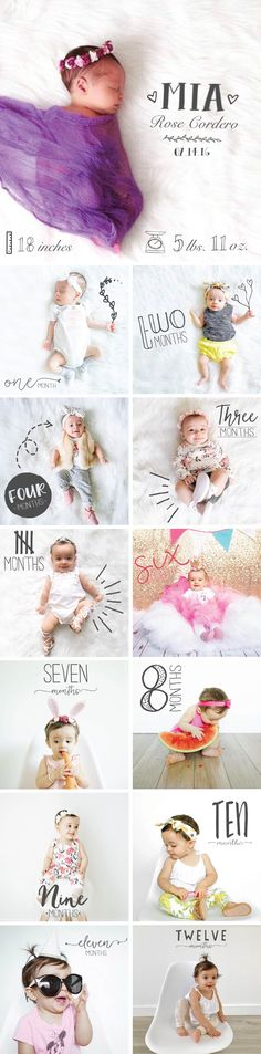 Cutest monthly baby milestone photo idea! Little Nugget is the baby app that helps you preserve your baby's milestones and firsts by combining your photos with artwork and personalized text in just minutes. You simply upload a photo, add personalized text, and then select fun artwork that perfectly marks the milestone. Once the photo is perfect, you can easily show off your adorable baby to family, friends and share on your favorite social network.