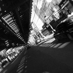 Jackson Heights - Roosevelt Ave, under the #7 Flushing line
