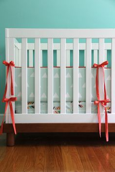 mint triangle and color arrow twopiece set by iviebaby on Etsy, $235.00