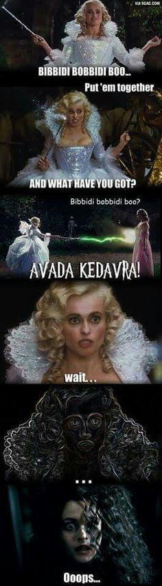 Cinderella with Harry Potter