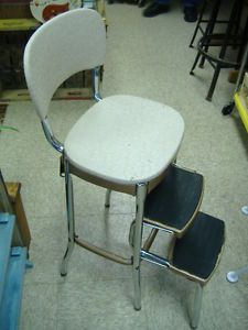 Vintage Mid Century Ames Maid Step Stool Kitchen Chair All