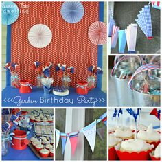 Garden Birthday Party | Lemon Tree Dwelling