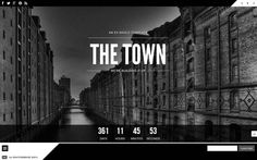 The Town - #onepage #template
